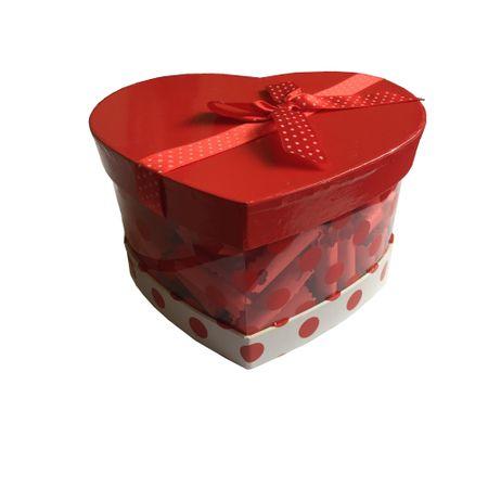 Cutie cadou Gentelo, 100 motive pentru care Te Iubesc, multicolor inimioara