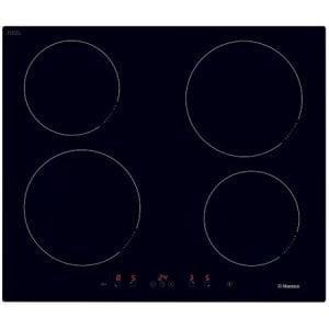 Plita incoporabila Hansa BHI68368 Inductie 4 zone de gatit Timer Sticla neagra