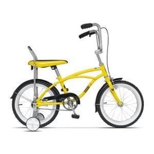 Bicicleta Pegas Mezin B, o viteza, Galben Bondar