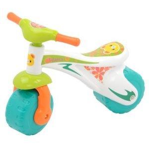 Bicicleta plastic fara pedale M-Toys, Albastru