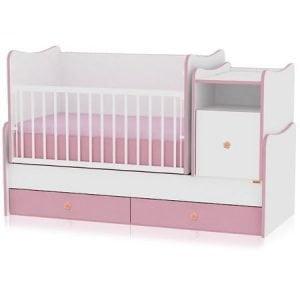 Mobilier Bertoni Lorelli Transformabil Color Trend Plus White Pink