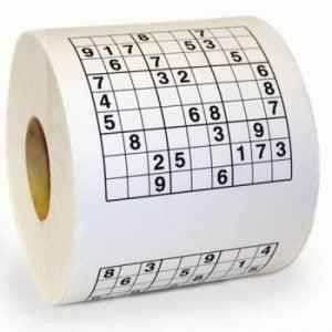 hartie igienica sudoku 1